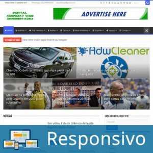 Template Portal Notícias WordPress Portugues Super Eleva 267