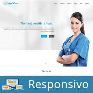 Template joomla hospital medico super eleva 245