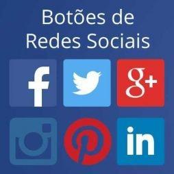 colocar botões de redes sociais