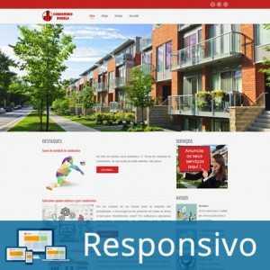 Site Pronto Para Condomínios em Português