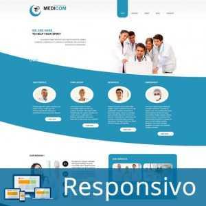 Hospital Clínica Médico Template Joomla Responsivo Colorido 262