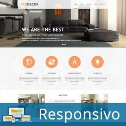 Moveis DecoracaoTemplate Joomla Responsivo 282