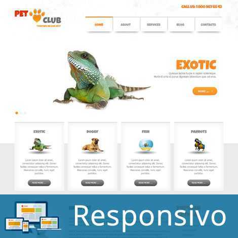 Pet Shop Animais Template Joomla Responsivo 279