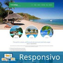 Turismo Template Joomla Responsivo 285 Script PHP Tema