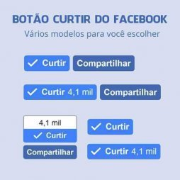 botao curtir do facebook pagina fanpage like