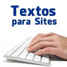 redator textos para sites lojas virtuais blogs
