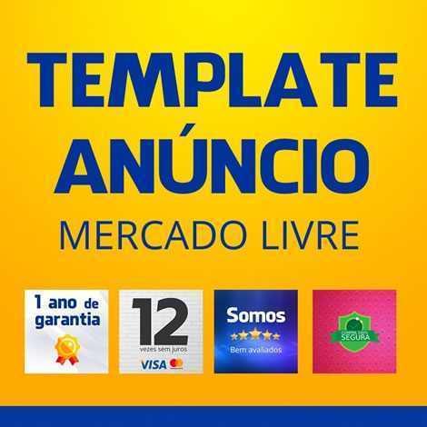 Template Anúncio Mercado Livre Vendas Imagens