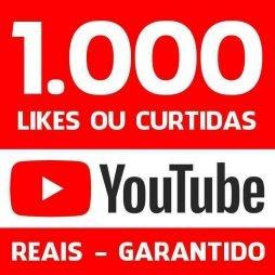 1000 LIKES CURTIDAS VIDEO YOUTUBE DIVULGAÇÃO