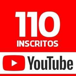 110 INSCRITOS YOUTUBE