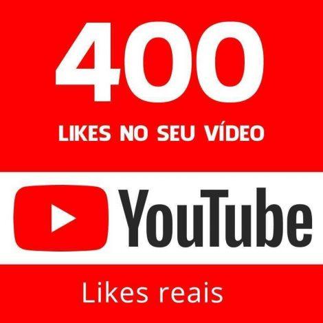 400 LIKES VIDEO YOUTUBE DIVULGAÇÃO