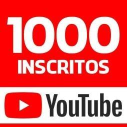 1000 INSCRITOS YOUTUBE