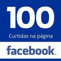 100 Curtidas Página Facebook