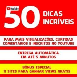 Curso Youtube 50 Dicas Para Mais Views Visualizações 1