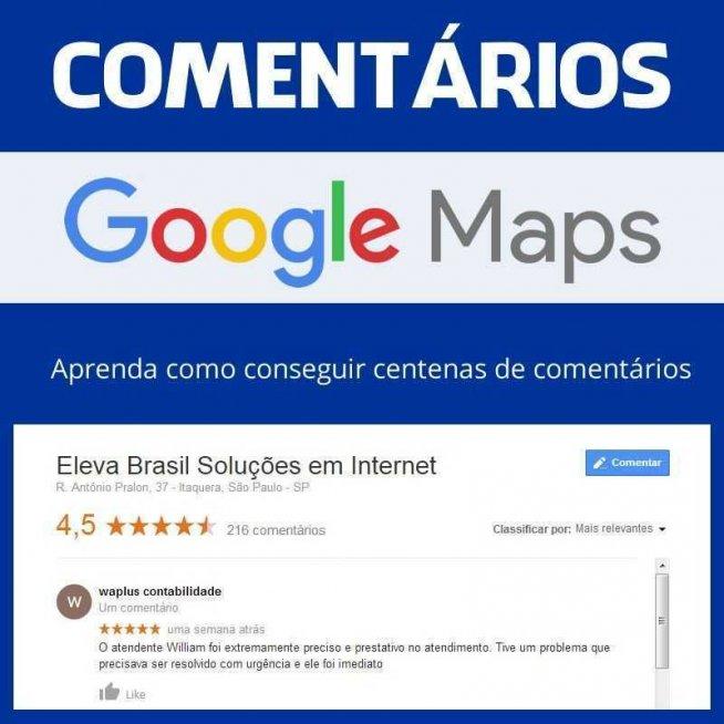 Comentários Google Maps