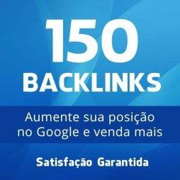 150 backlinks aumentar posição no google otimização