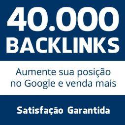 40 mil backlinks seo otimização google