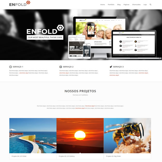 Criar Site Empresa Serviços