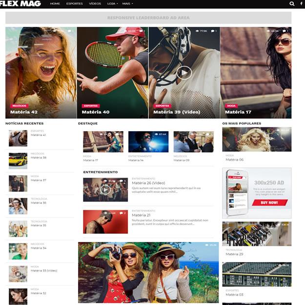 Criar Site Notícias
