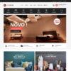 Loja Virtual Móveis Decoração WordPress Responsivo Português 1029