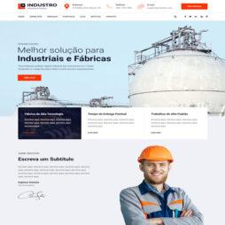 Criar Site Indústria
