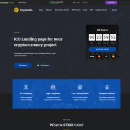 Criar Site Bitcoin Criptomoeda