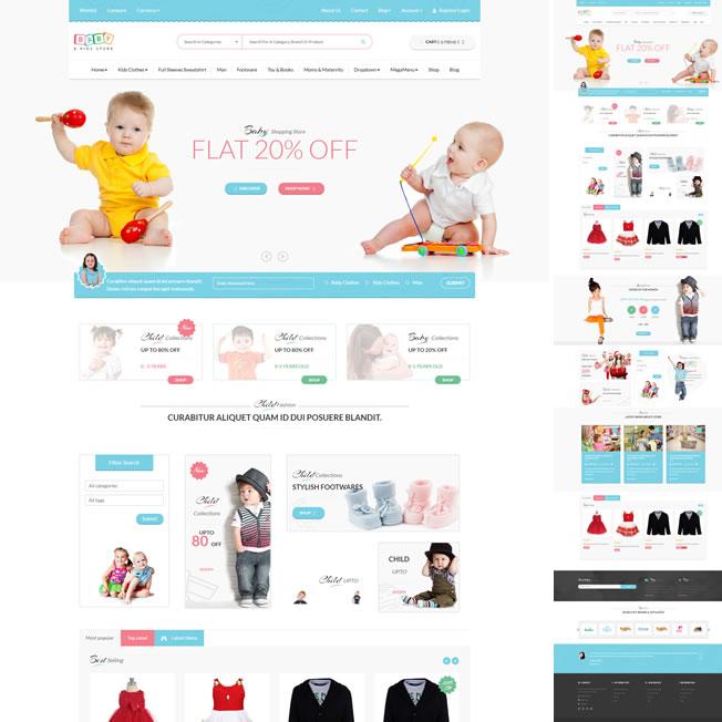 Loja Virtual Infantil