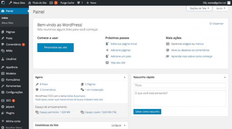 Criar Site Notícias WordPress Responsivo Português 1031