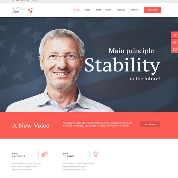 Criar Site Política Eleição