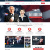 Criar Site Política Eleição WordPress Responsivo 1067 S