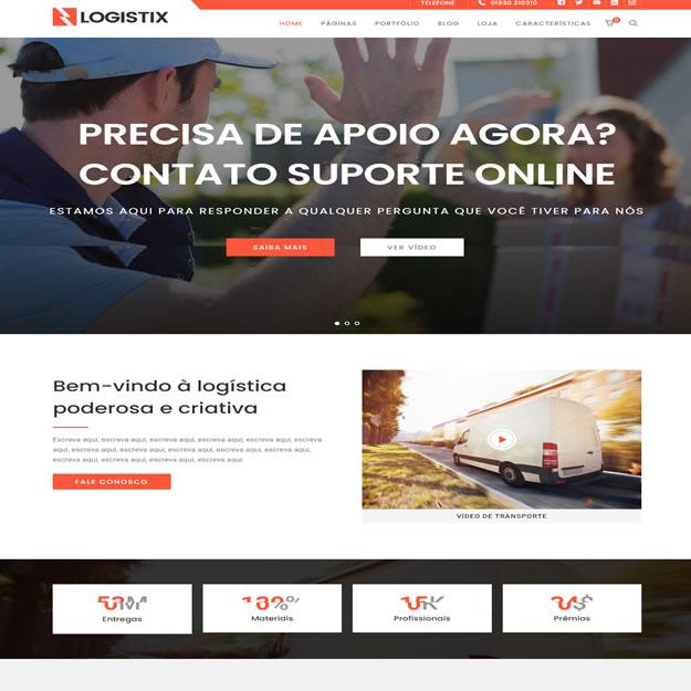 Criar Site Logística