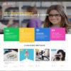 Criar Site Cursos Escola WordPress Responsivo Português 1073 S