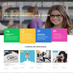 Criar Site Cursos Escola