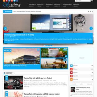 Template Blog Para Blogspot