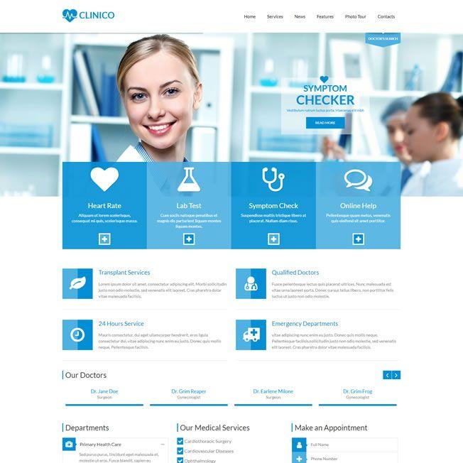 Criar Site Clinica Médico Dentista Wordpress Responsivo 573