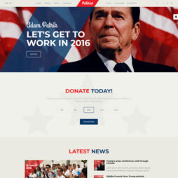 Criar Site de Político