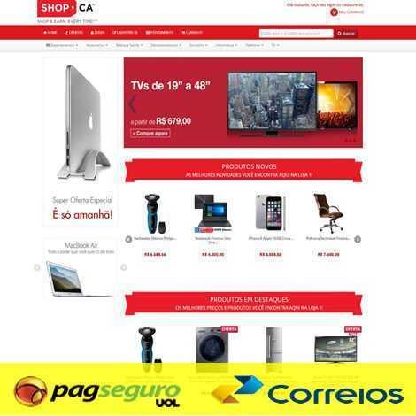 Loja Virtual E-Commerce Responsivo PHP 534