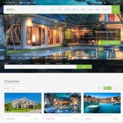 Template Imobiliária WordPress Responsivo 678 S v1