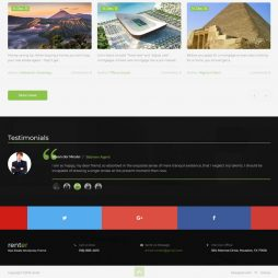 Template Imobiliária Wordpress Responsivo 678 S