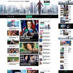 Template Notícias Wordpress Responsivo 677 S v1