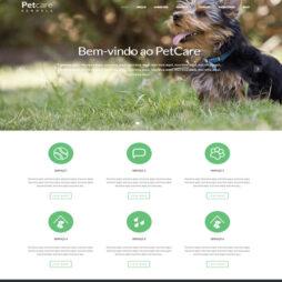Criar Site PetShop