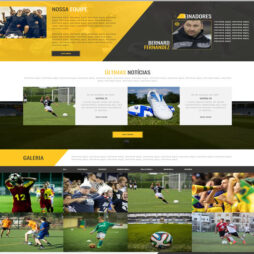 Criar Site Esporte