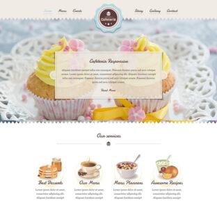 Criar Site Cafeteria Doceria