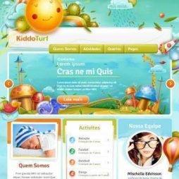 Criar Site Creche Infantil
