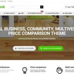 Template Para Comparação De Preços Wordpress Responsivo 709