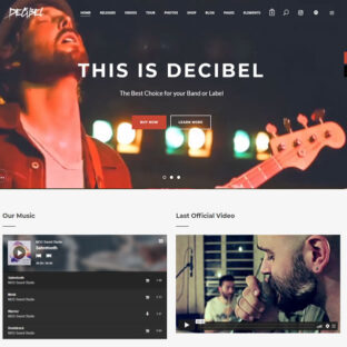 Criar Site Músico Bandas