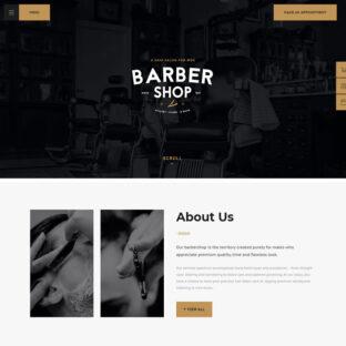 Criar Site Barbearia