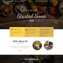 Criar Site Restaurante WordPress Responsivo Português 1094