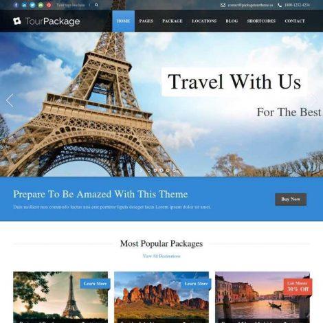 Site Agências De Viagens Wordpress 695
