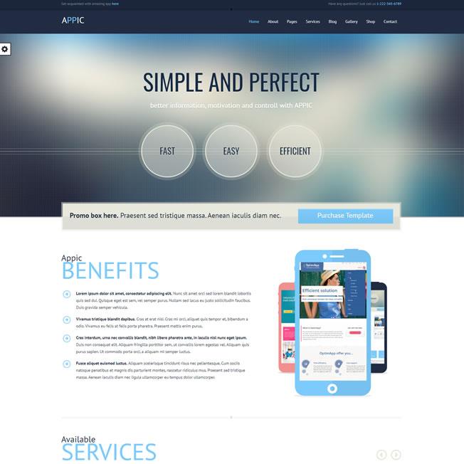 Site Empresa Tecnologia Informatica