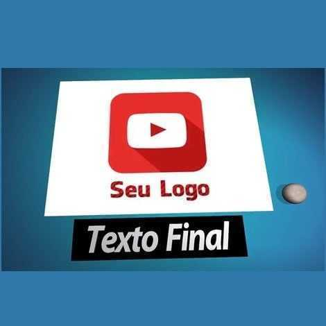 Intro 3d Introdução Vinheta Youtube Canal E Vídeos Modelo 4
